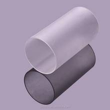 China Supplier Frosted Plastic Pipe Polycarbonate Tube
