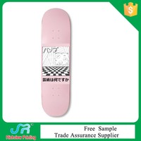 Dry rub resistance skateboard heat transfer printing film with customized design