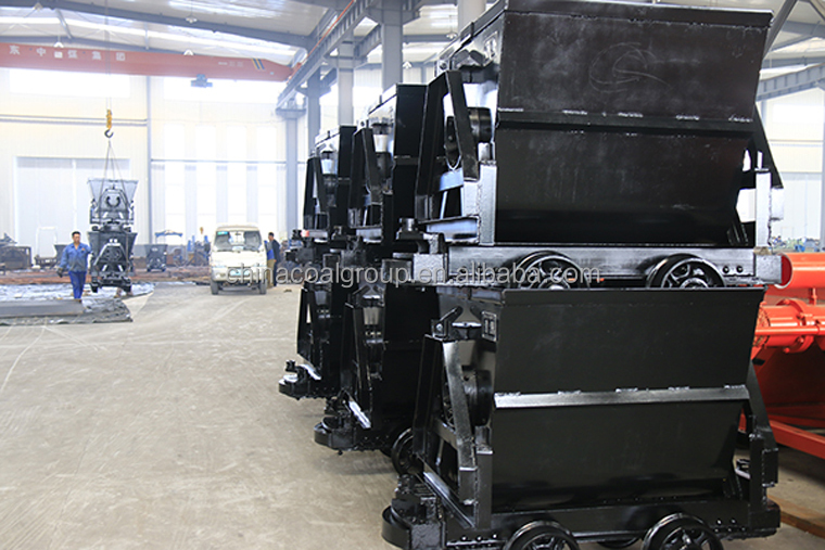 Coal Mining Cart KFU0.75-6 Bucket Tipping Mine Car