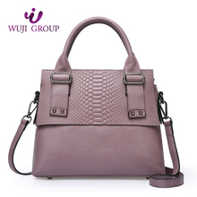 Online Shopping Fashion Wholesale Leather Tote Bag