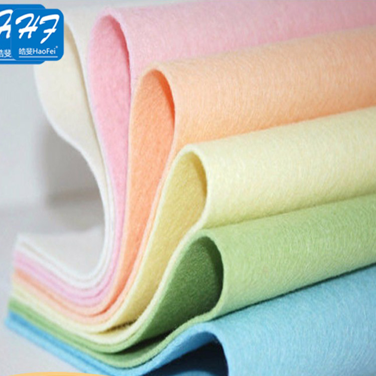 Manufacture Good Quality Needle Punch Non Woven Felt For Craft
