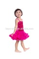 2017 Wholesale Rosette Flower Girls Harness Tutu Dress Baby Party Wear