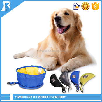 China Wholesale Market Agents portable travel dog bowl
