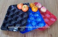 crystal glass fruit tray