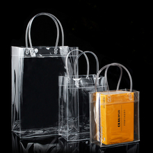 Promotional Clear Pvc Plastic Shopping <strong>Bag</strong> For Cosmetics