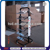 TSD-M764 factory Custom free standing metal pop display stand,shop fitting and displays,retail store furniture