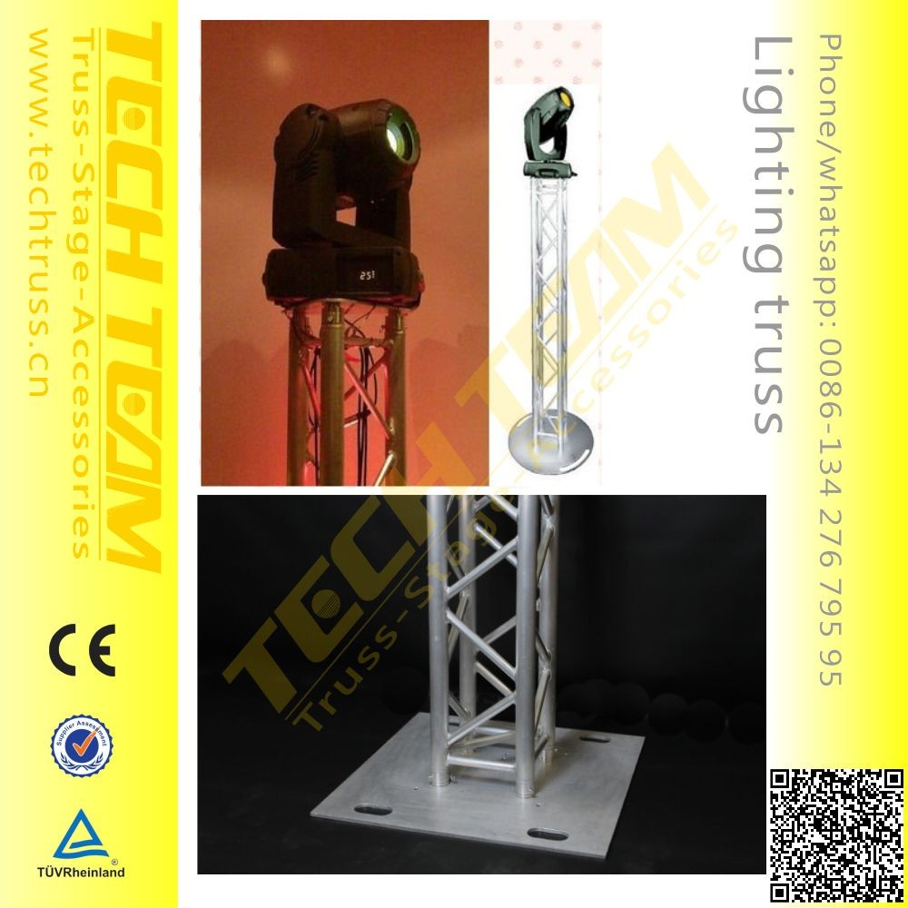 Outdoor Moving Head Light Turss Stand Base Plate