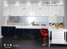 Timeless classic design with elegant taste in kitchen cabient coating uv painting