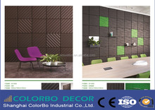 Colorbo Polyester Fiber Acoustic Panel for background tv walls