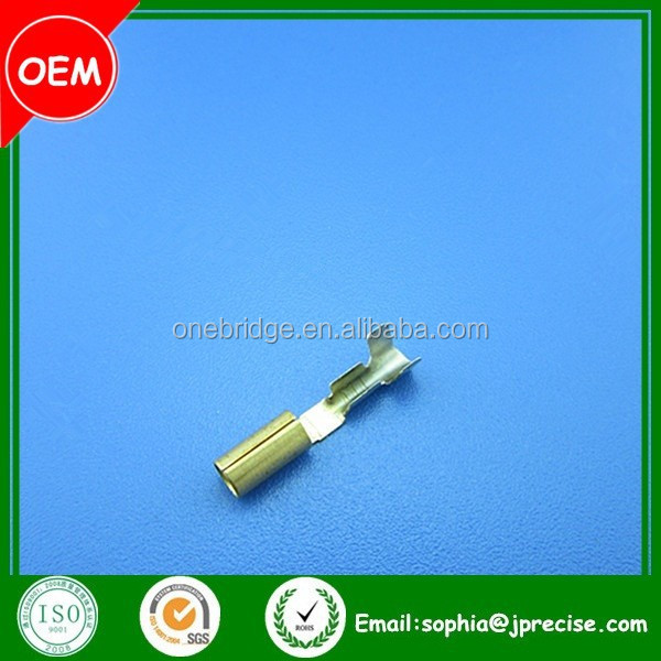 OEM connector auto electronics car wire brass terminal