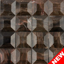 Chocolate Brown Tile, Chocolate Marble Tiles, Natural Stone Chocolate Marble Tiles (KS20130005)