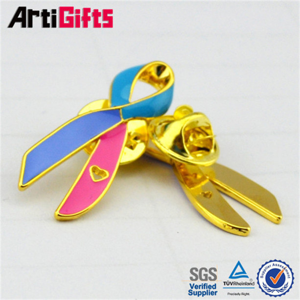 New product metal brooch safety bar pin