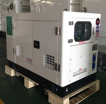 China manufacturer electric start 10KW 10KVA soundproof type diesel generator set