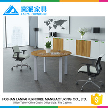 LB-18 simple office coffee table meeting room small round conference table