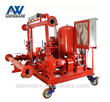 Portable Vertical Horizontal Fire Fighting Pump Set for Office