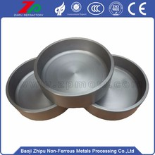 Competitive tungsten crucible price for melting steel
