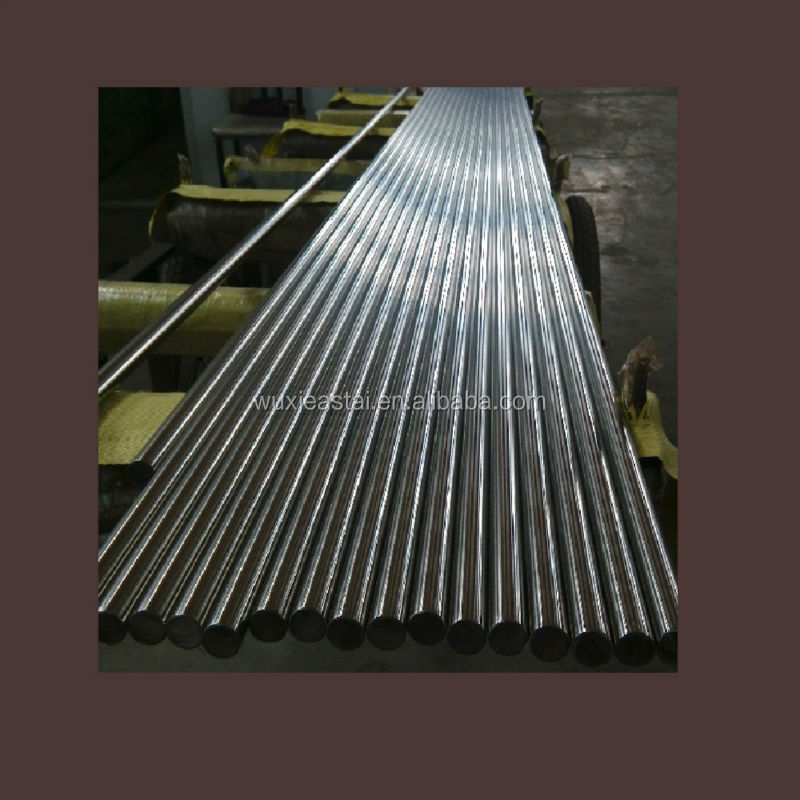 Factory supply stainless steel shafts for lift hydraulic cylinder