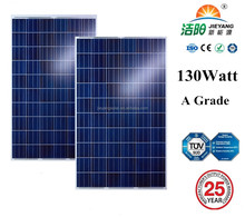 polysilicon 130w solar panel China supplier solar modules factory direct high quality polysilicon 130w solar module