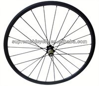 High quality 700c road bicyle for clincher or tubular carbon wheelset 6 spoke bicycle wheel