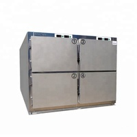 Hot Sale MSLMR series China factory Medical devices Cheap 6 dead bodies freezer and mortuary refrigerator price