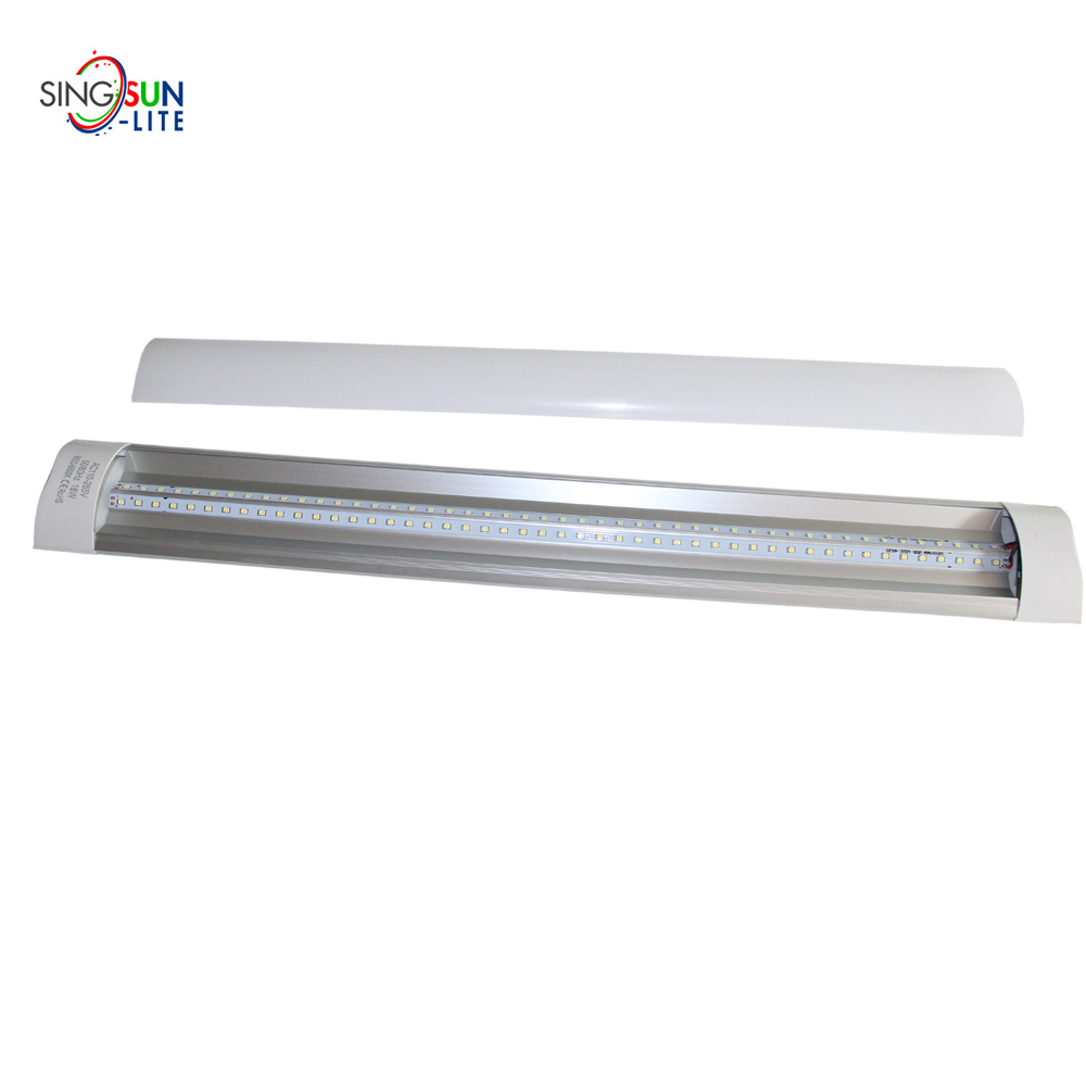LED tube housing lighting batten tubes high power 28w 2800lm super bright purify lights