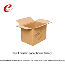 Recyclable eco-friendly corrugated carton box with flexo printing line and window