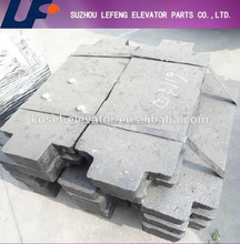 Elevator Counterweight For Sale/Elevator Parts/Elevator Balance Weight