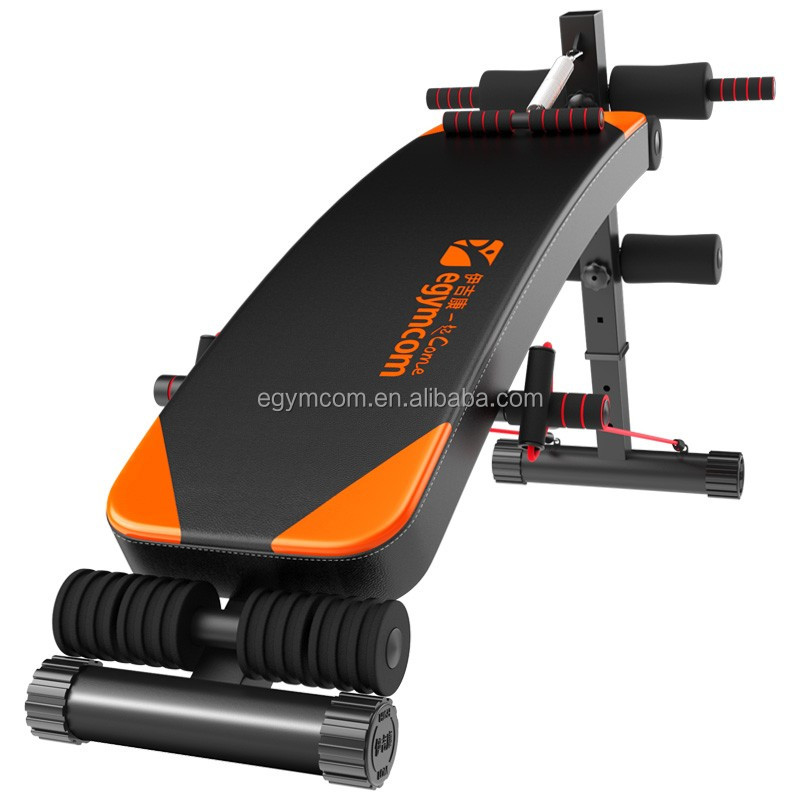 High Quality PU Leather Weight Bench Machine Bodybuilding Equipment Inversion Table Sit up Bench