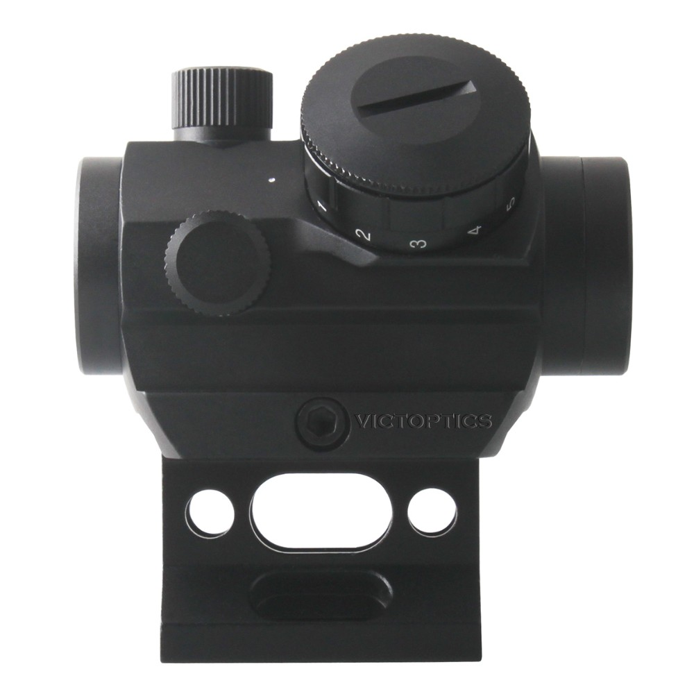 Victoptics 1x22 Red Dot Sight Scope Airsoft Scope Riser Mount 11 Levels Dot Intensity