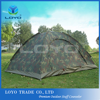hot selling camouflage ultra light outdoor 1 2 person camping tent