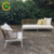 Factory Direct wholesale wicker rattan patio sectional sofa