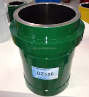 mud pump spare parts bi-metal cylinder liner