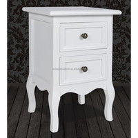 2 Drawers Wooden NightStand with high quality made in China
