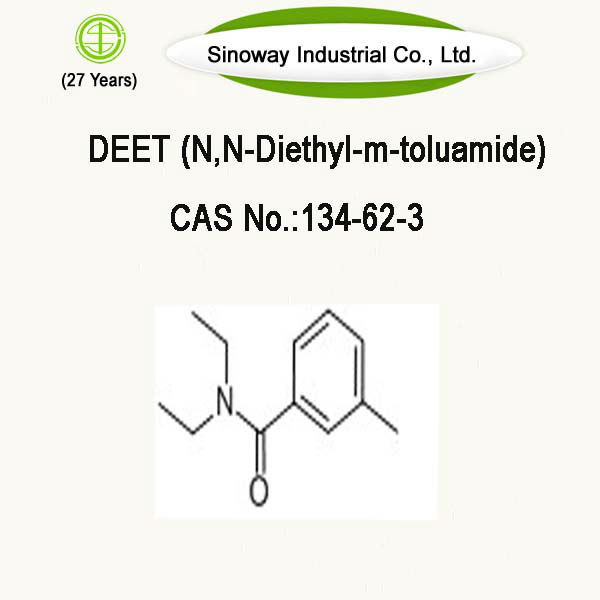 preparation of n n diethyl m toluamide deet and With prior pediatric reports of toxicity from highly concentrated deet ( n , n -diethyl- m -toluamide) and the skin preparation integrity was documented by.