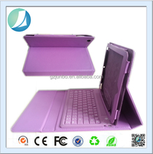 Book type bluetooth keyboard leather case universal for 7 inch tablet