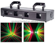 Guangzhou High Quality four head red green blue yellow laser beam lights