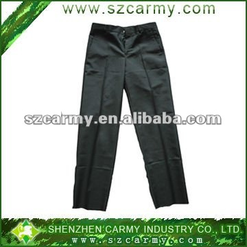 100%nylon Breathable black pants/work pants/uniform pants