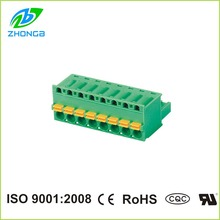 electrical connector strip ZB2EDGKD-5.0/5.08