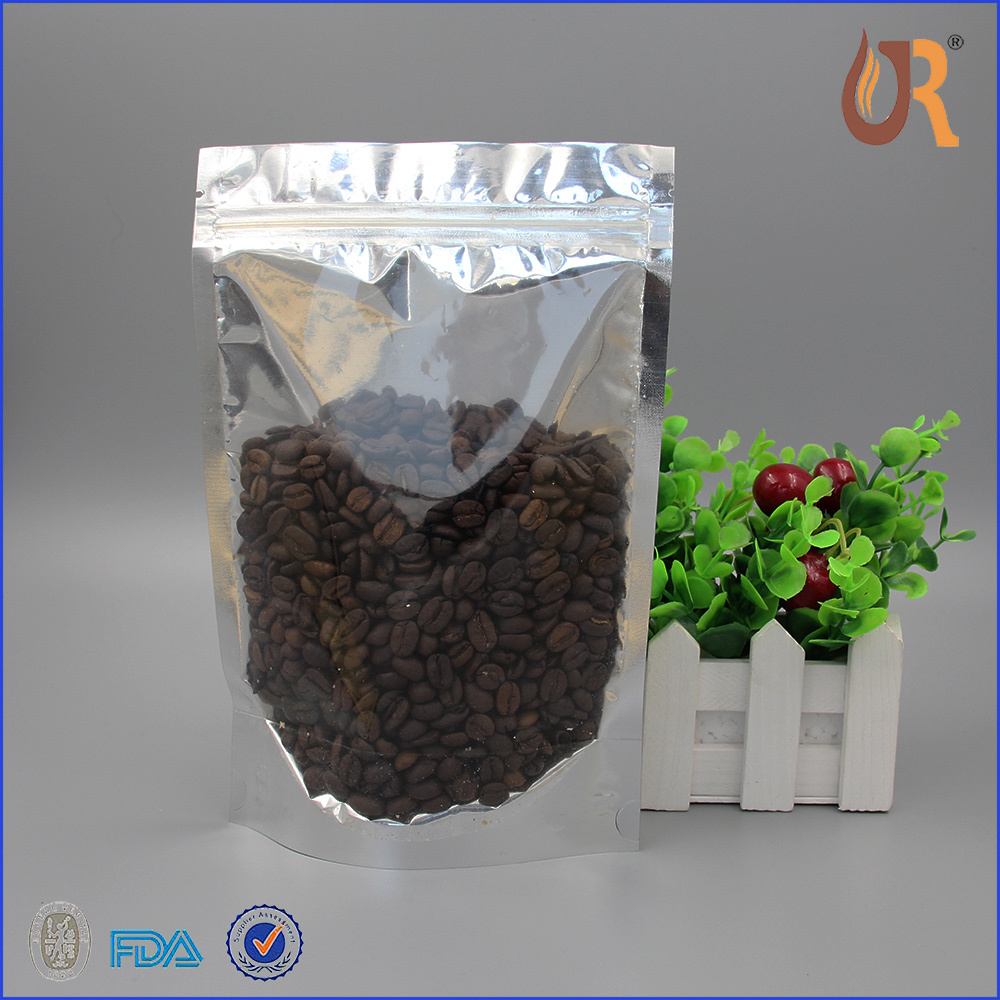 Heat Seal Sealing & Handle and Promotion Industrial Use food packaging poly bags with window