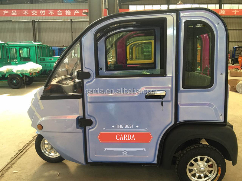 Luxurious electric tricycle 3 wheel 3 seat rickshaw for sale