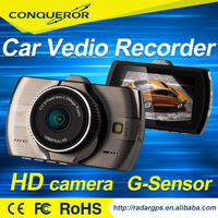 car black box 1080P full HD with Wide dynamic GPS, g-sensor,back up camera input