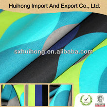 Huihong Small MOQ Poly train printed fleece fabric