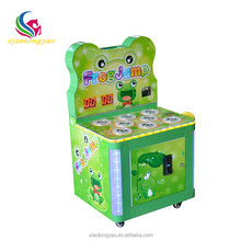 Hot sale coin operated Frog hitting kids arcade machines arcade hammer game machine