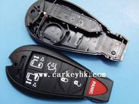 car remotes China shells Chrysler 5+1 button key blanks wholesale