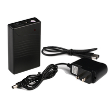 DC 12V 3800mAh Lithium-ion Battery Pack with AC charger in black case for LED strips