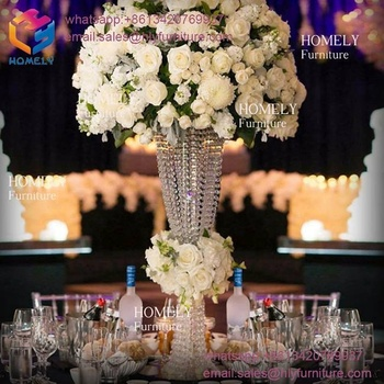 Factory Price Hot Sale Crystal wedding decoration centerpieces For Wedding Table Centerpieces Decoration from homely furniture