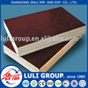 brown film faced plywood from LULI group since 1985
