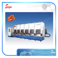 Xk0056 Full-auto rubber shoe sole moulding machine