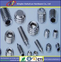 security set screw fastener products