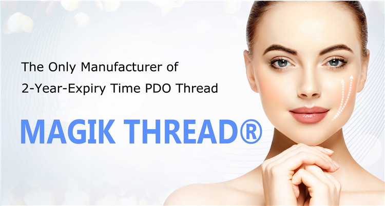 Korea cog 4d lifting thread face pdo suture mono screw tornado